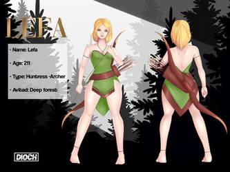 LEFA (Character sheet) by Dioneiker