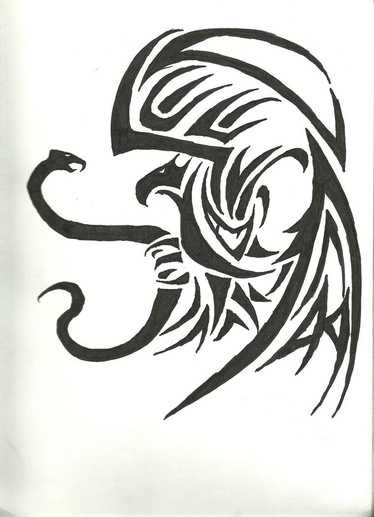 Tribal Mexican Eagle