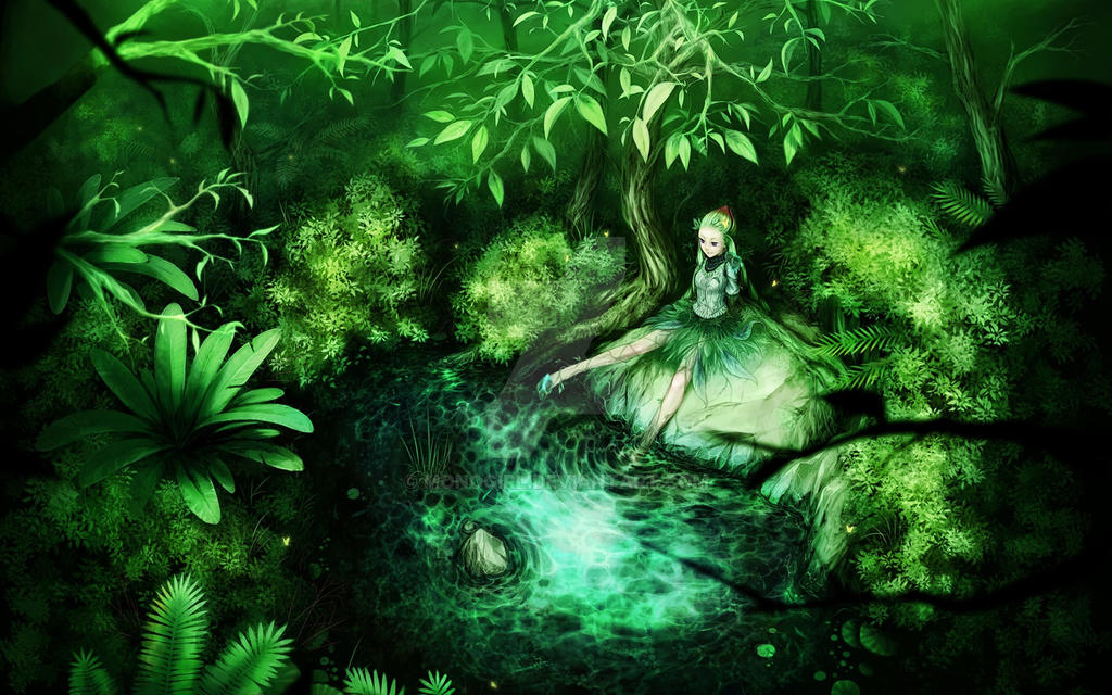 forest fairy wallpaper - photo #4