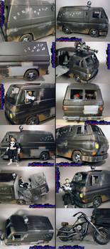 Custom Punisher Battle Van by KyleRobinsonCustoms