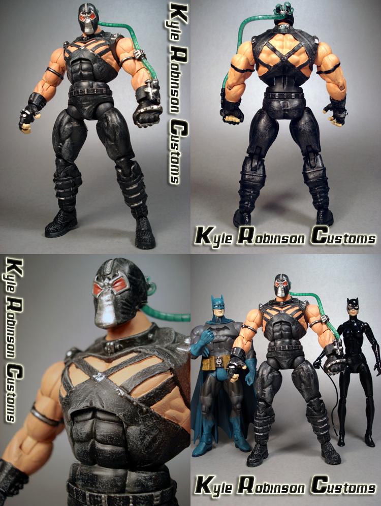 Custom Bane Action Figure by KyleRobinsonCustoms