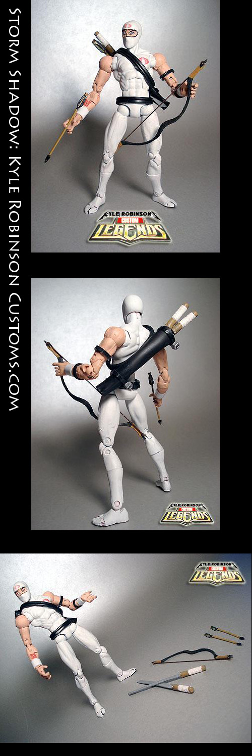Custom Storm Shadow Figure by KyleRobinsonCustoms