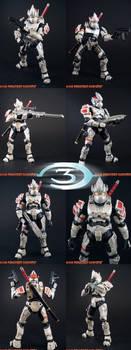Custom Halo 3 Hayabusa Spartan