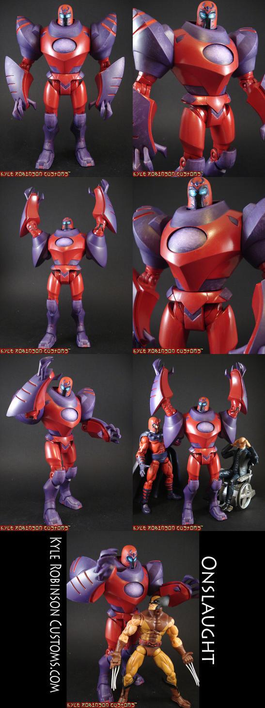 Custom Onslaught X-Men Figure by KyleRobinsonCustoms