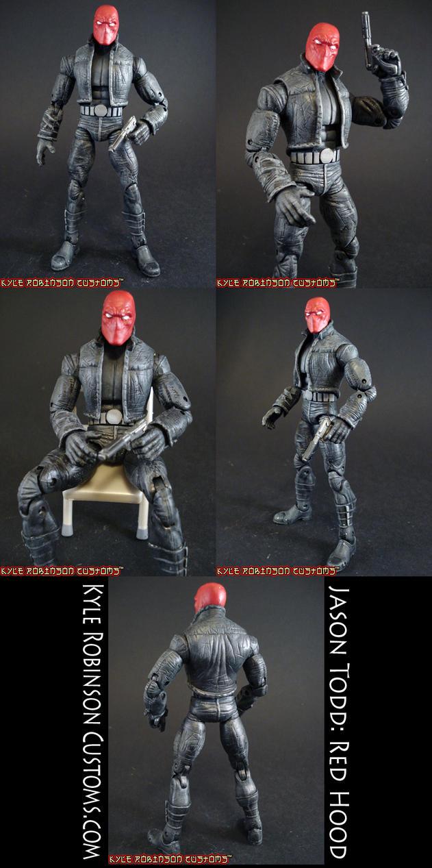 Custom Red Hood Action Figure by KyleRobinsonCustoms