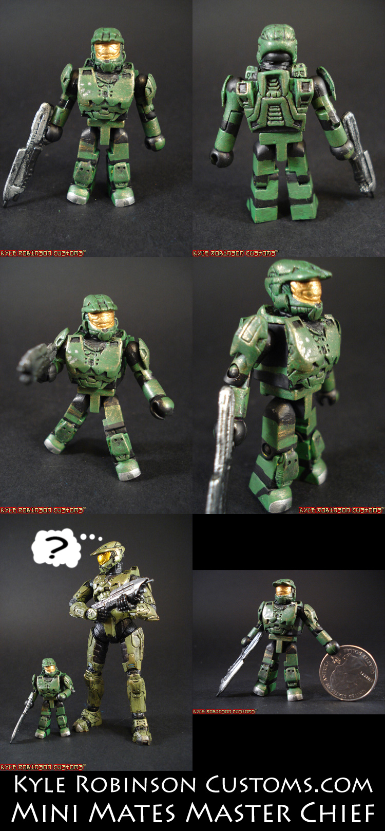 Minimates Halo 3 Mini Mates Halo 3 Master