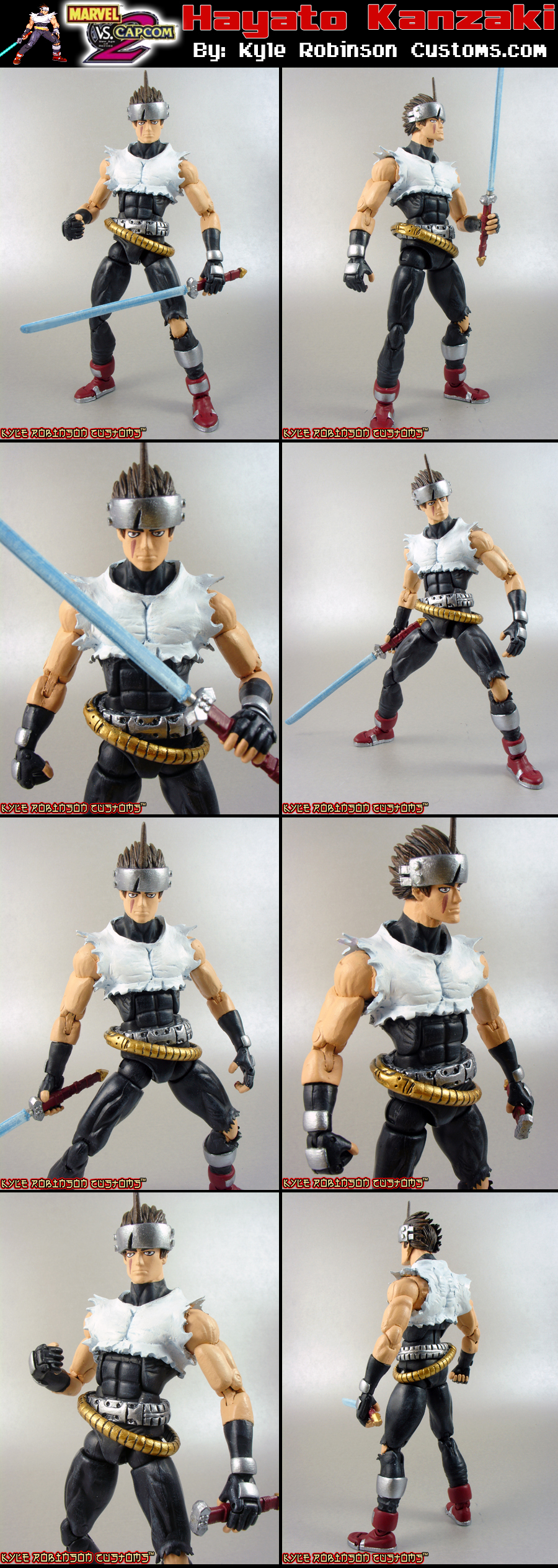 Custom MvsC Hayato Kanzaki by KyleRobinsonCustoms