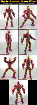 Custom Tech Armor Iron Man
