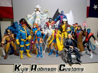 Kyles Jim Lee X-Men Group Shot by KyleRobinsonCustoms