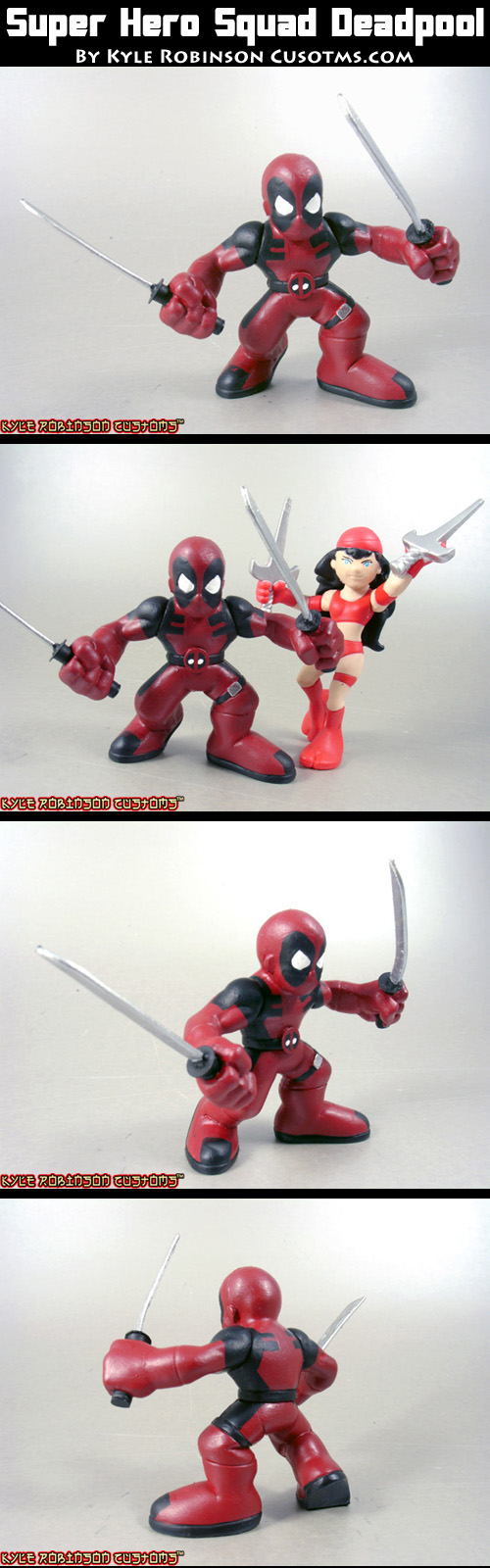 Super Hero Squad Deadpool by KyleRobinsonCustoms