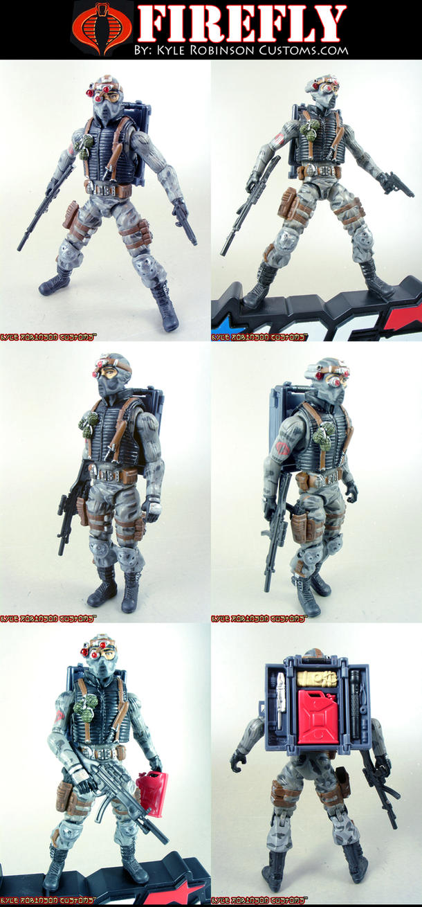 Custom GI Joe Firefly by KyleRobinsonCustoms