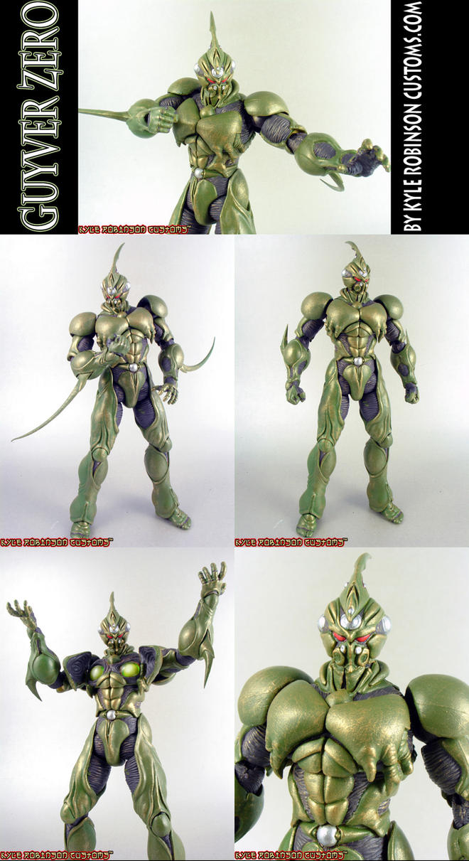 Custom Guyver Zero Figure by KyleRobinsonCustoms