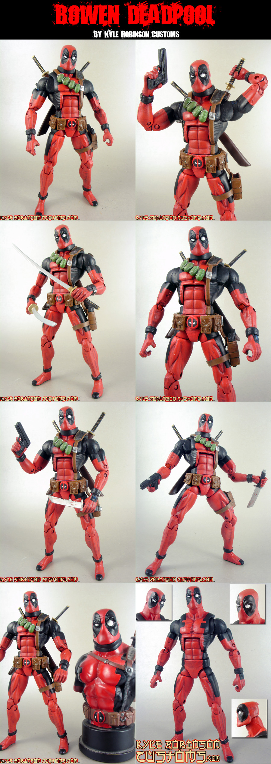 Bowen Deadpool Custom Figure by KyleRobinsonCustoms
