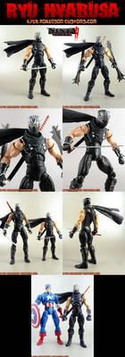 Custom Ryu Haybusa 6 inch