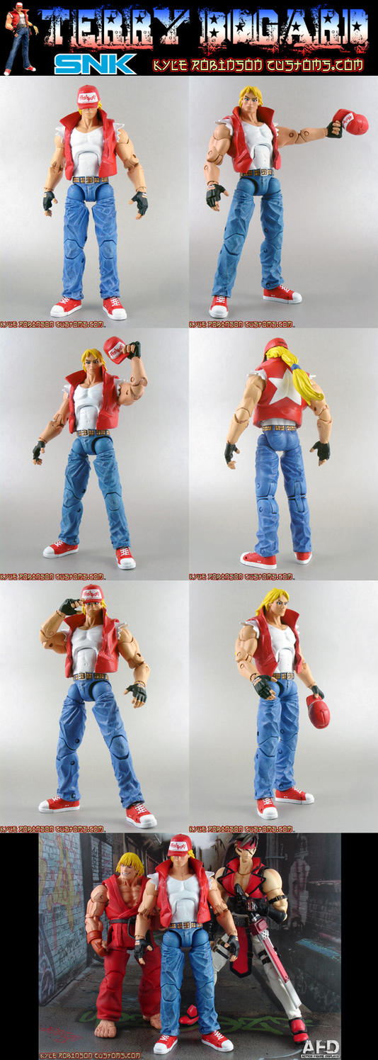 Fatal Fury custom Terry Bogard by KyleRobinsonCustoms