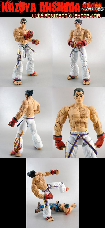 Custom Tekken Kazuya Mishima by KyleRobinsonCustoms