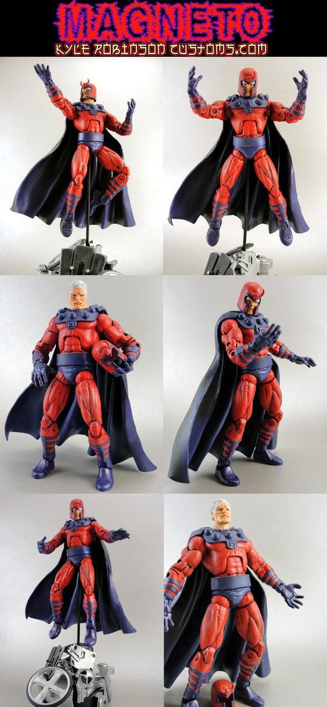 Jim Lee Magneto Custom Figure by KyleRobinsonCustoms