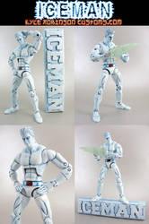 Custom Iceman X-Men Figure by KyleRobinsonCustoms