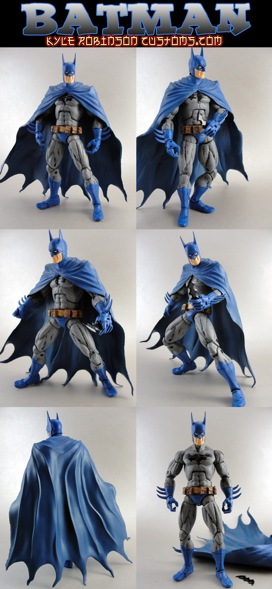 Custom Batman Ed Benes Style by KyleRobinsonCustoms