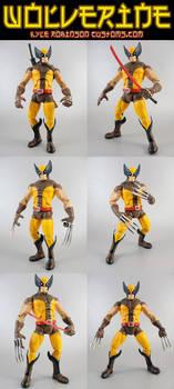 Custom Wolverine Brown Suit