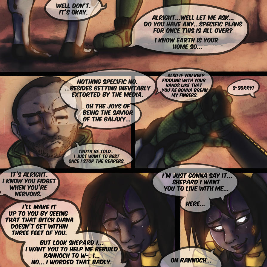 Mass Effect Live Wallpaper: Mass Effect: Resurrection Rannoch Page 8 By TidyWire On