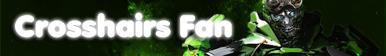 Crosshairs Fan Button [F2U] by PrincessScarblade