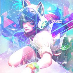 Arcade Ahri Icon by PrincessScarblade
