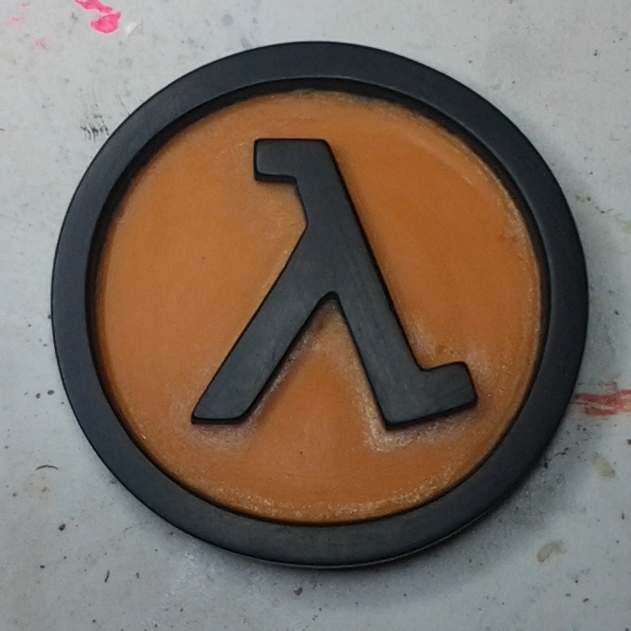 Half Life Lambda Badge by StaticLemon on DeviantArt
