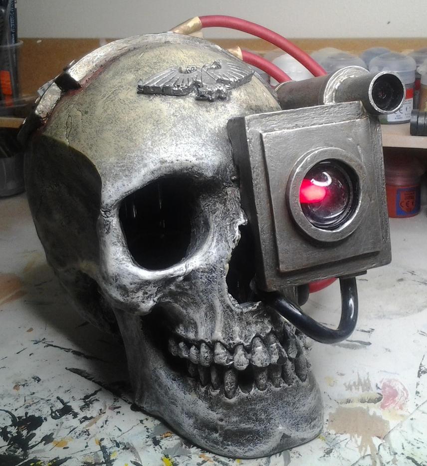 Servo Skull 02 by StaticLemon on deviantART
