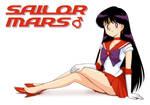 Sailor Mars!