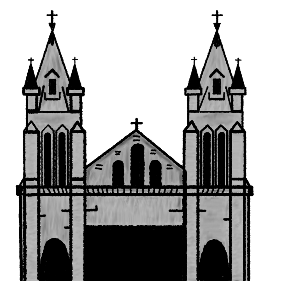 cathedral clipart by matiseli on deviantart rh deviantart com st pauls cathedral clip art cathedral window clipart