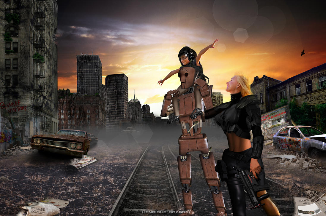 Post apocalyptic world by Henrique-Rozada