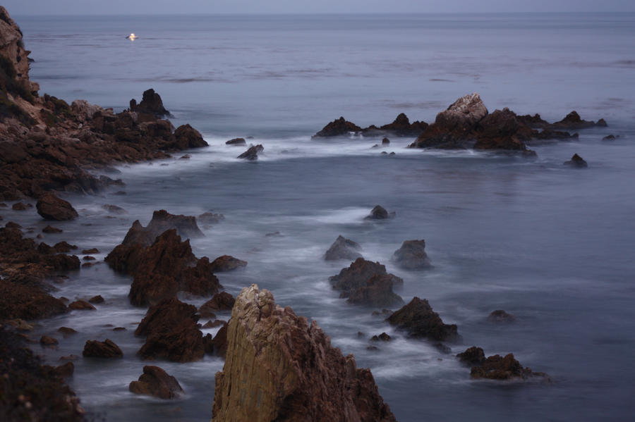 Misty Rocks by pinknfuzzy4711
