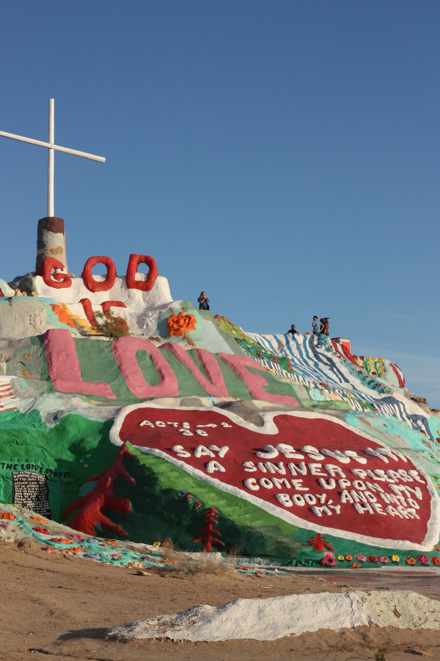 Salvation Mountain by pinknfuzzy4711