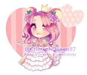 [G] Lunar Princess by CrimsonQueen97