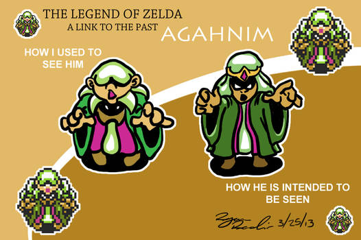 The Legend of Zelda : A Link to the Past : Agahnim