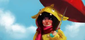 Umbrella Girl Color