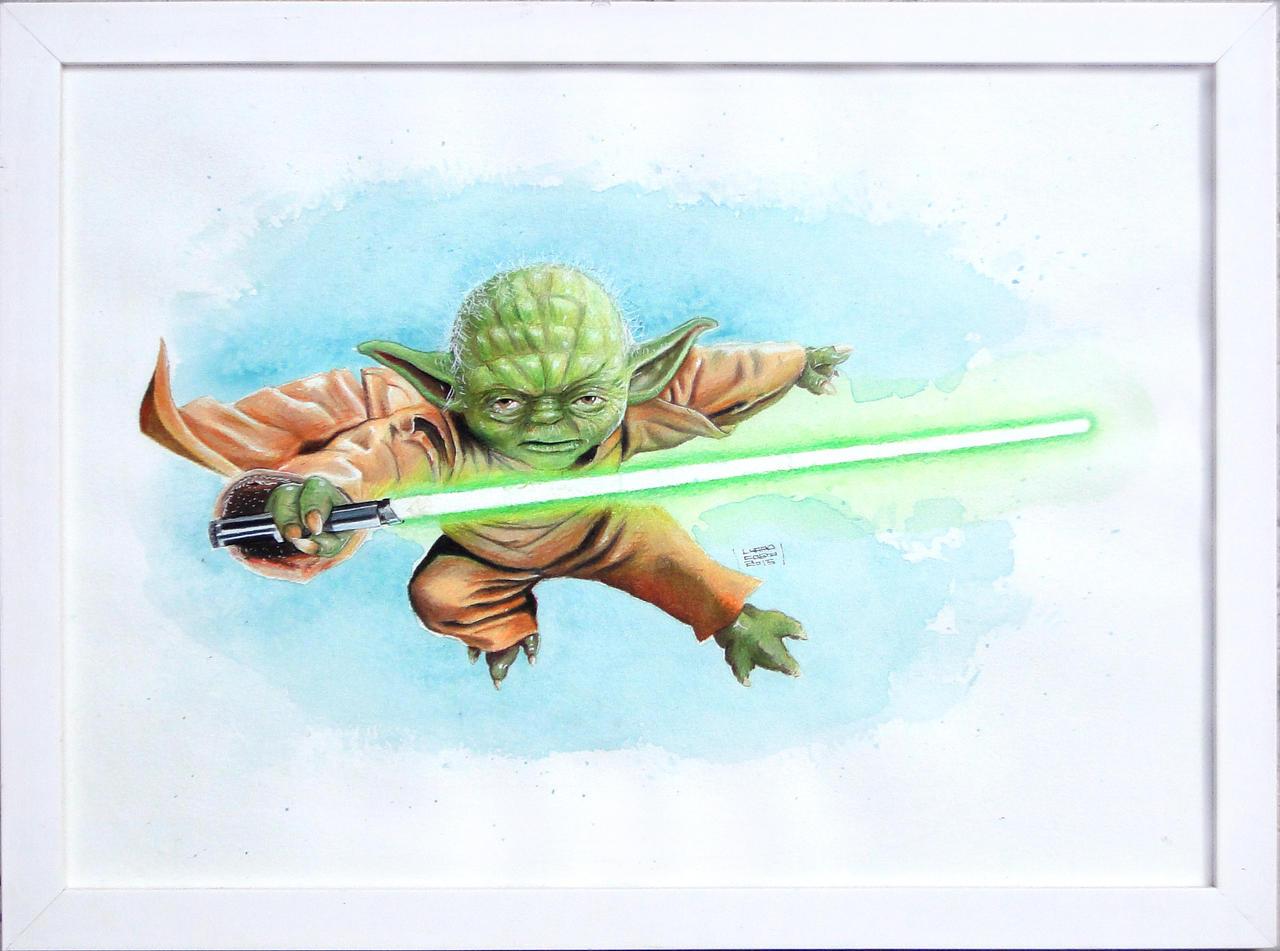 Yoda by Deleitesemcor