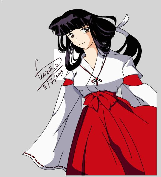 Inuyasha By Animegirl151 On Deviantart: INUYASHA Fan Art: Kikyo II By Araeafurin On DeviantART