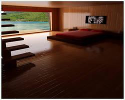 bedroom by kmpkt