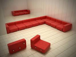 armchair by kmpkt