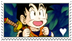 Son Gohan Stamp by MaggienToby