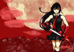 Akame from akame ga kill