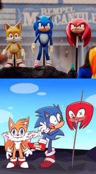 Knuckles is dead.