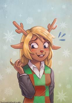 Awkward Deer