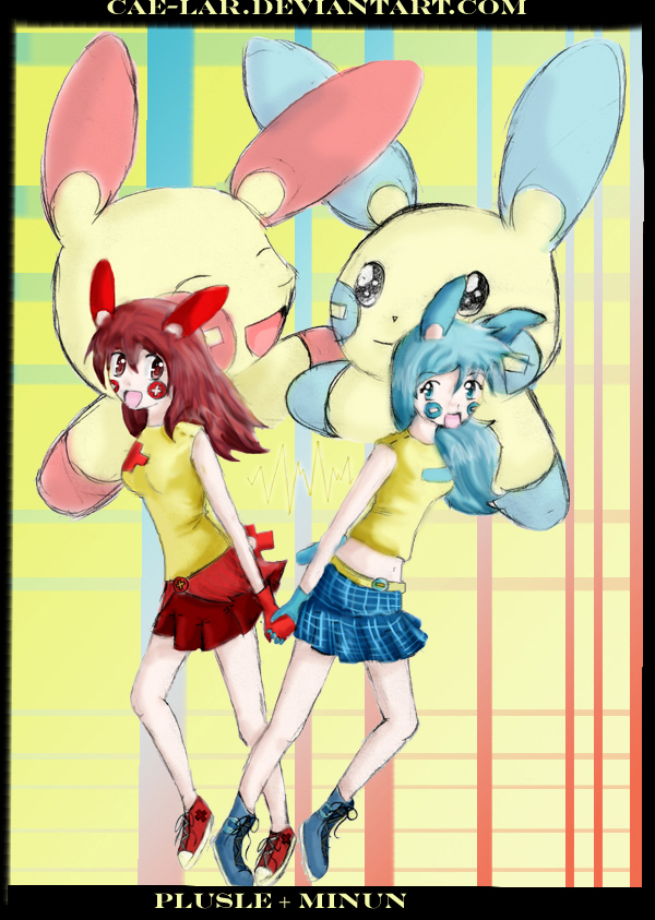 Image Result For Minun And Plusle