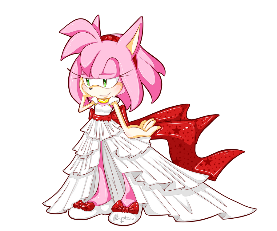 Amy's Dress By Crystalwolfheart On DeviantART
