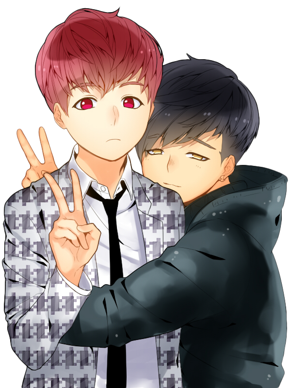 Jimin And Jungkook BTS Anime Style Render By HikariKida On DeviantArt