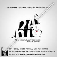 24HIC 2010 Banner Verticalismi by lysergicstudio
