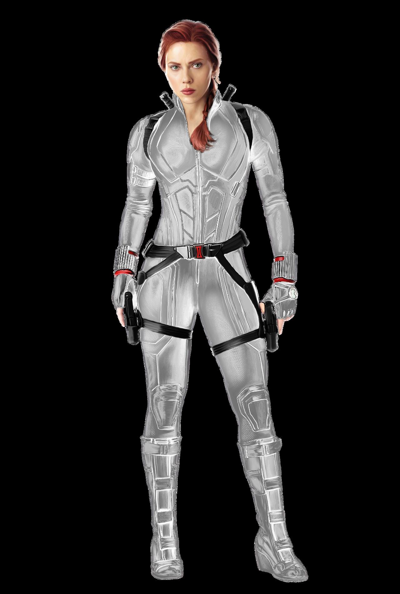 Black Widow White Suit PNG by ZeynepTheGreat on DeviantArt